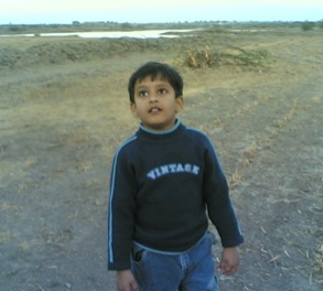 Aadil enjoying birding